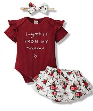 Newborn Baby Girl Clothes Romper Pants for Baby Girl