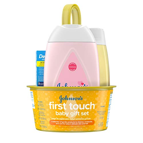 Johnson's Baby First Touch Baby Gift Set, Baby Bath