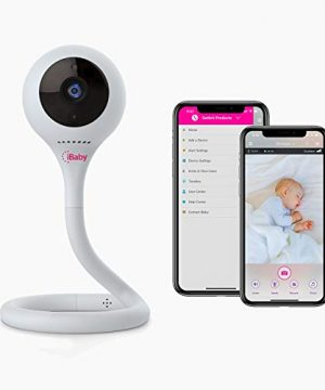 iBaby Smart WiFi Baby Monitor M2C, 2.4GHz, 1080P Camera