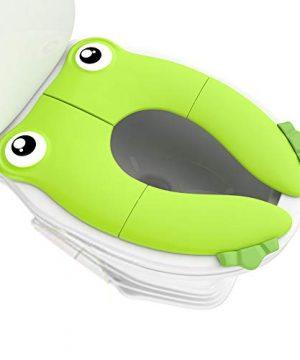 Portable Folding Large Non Slip Silionce Pads Potty