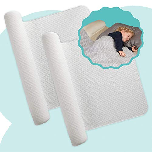 [2-Pack] hiccapop Inflatable Bed Rail for Toddlers