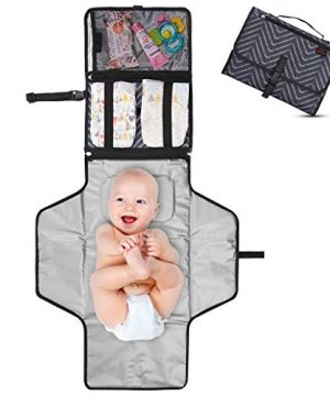 Crystal Baby Smile Portable Changing Pad - Detachable Changing Mat