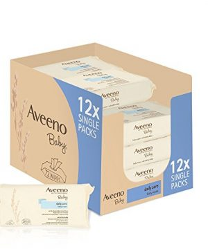 AVEENO Baby Daily Care Wipes - Cleanse Gently and Efficiently