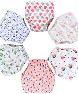 6 Pack Potty Training Pants for Boys Girls