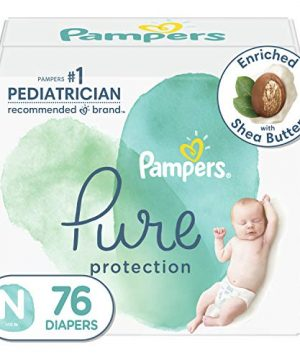 Diapers Newborn/Size 0 (<10 lb), 76 Count