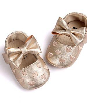 Cute Bow Crib Shoes Infant Prewalker