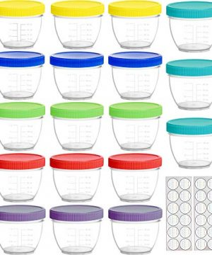 Baby Food Containers with Lids