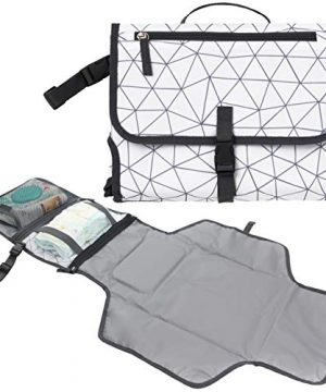 Baby Portable Diaper Changing Pad, Waterproof Travel