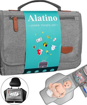 Portable Diaper Changing Pad for Baby, Detachable Travel