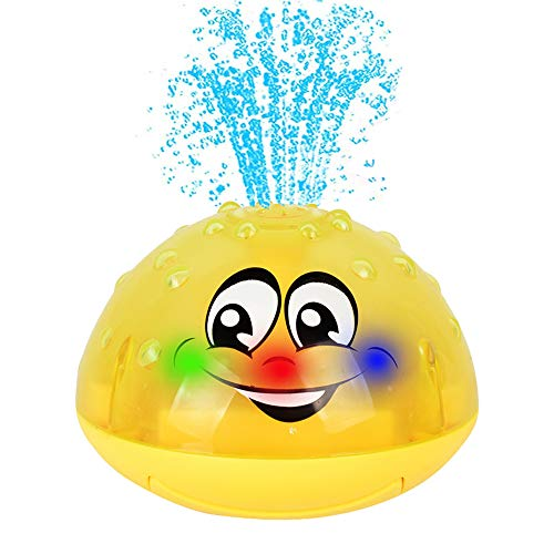 HLXY Bath Toy, Spray Water Squirt Toy LED Light