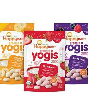 Baby Organic Yogis Freeze-Dried Yogurt & Fruit Snacks