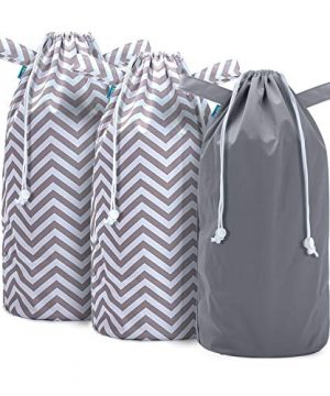 Teamoy Pail Liner for Cloth Diaper(Pack of 3), Reusable Diaper