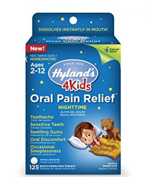 Kids Nighttime Oral Pain Relief Tablets by Hyland's 4Kids