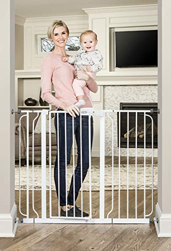Regalo 37-Inch Extra Tall and 49-Inch Wide Walk Thru Baby Gate