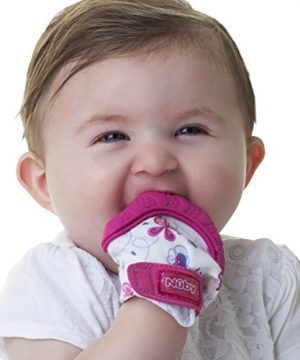 Soothing Teething Mitten with Hygienic Travel Bag