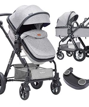 Blahoo Baby Stroller for Toddler .Foldable Aluminum Alloy Pushchair
