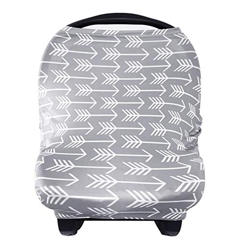 Nursing Cover Breastfeeding Scarf - Baby Car Seat Covers