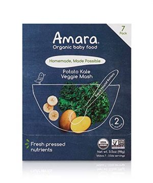 Amara Baby Food, Kale Potato, Healthy Baby and Infant Food