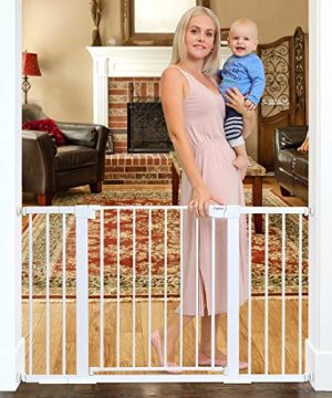 Cumbor 51.6-Inch Baby Gate Extra Wide