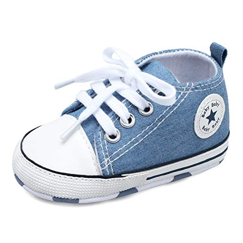 Soft Anti-Slip Sole High Top Sneaker Infant Sneaker