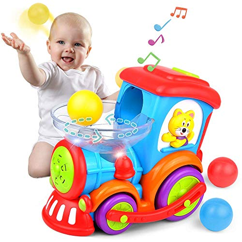 Ball Popping Educational Toddler Train Toys