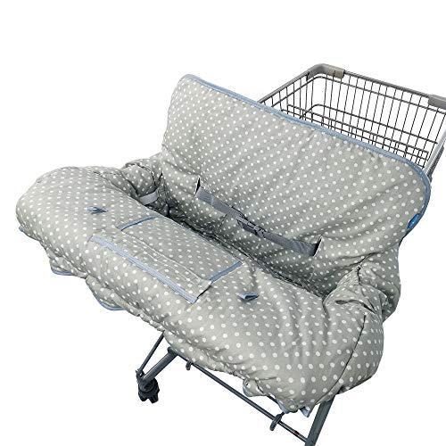 Shopping Cart Cover for Baby Girl boy, 100% Cotton Sitting Area
