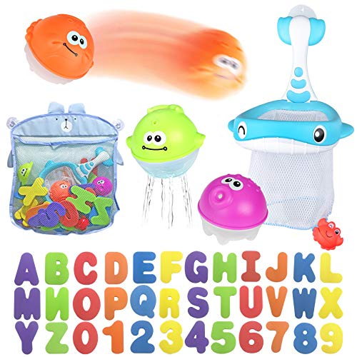 Bath Toy Sets, 36 Foam Bath Letters and Numbers