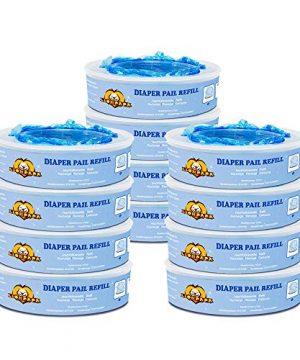 Diaper Pail Refills Compatible with Diaper Genie Pails