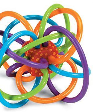 Manhattan Toy Winkel Rattle, Sensory Teether Toy