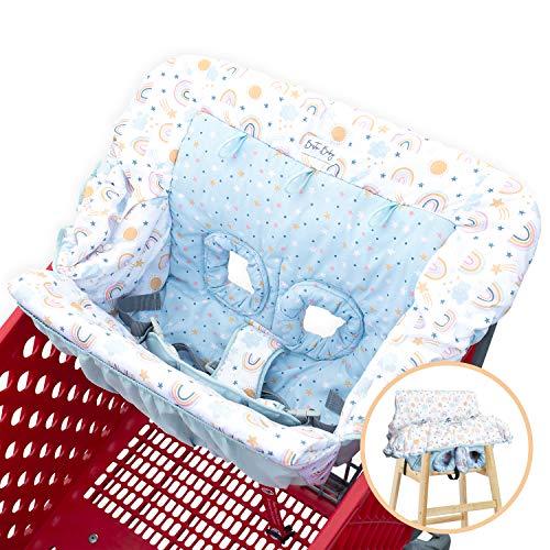 Bristin Baby Shopping Cart Cover. Cushy Baby Hammock