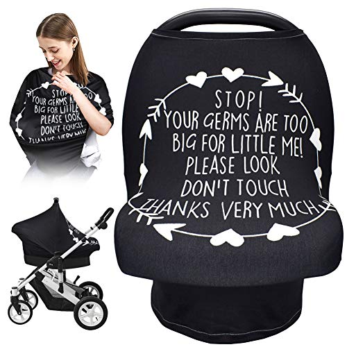 Car Seat Covers for Babies, Nursing Breastfeeding Cover Infant Carseat Canopy