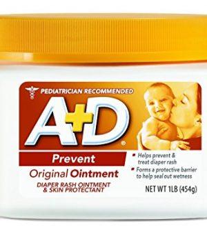 A&D Original Diaper Ointment 1 Pound Per Jar