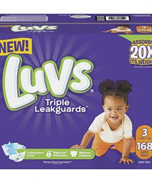 Triple Leakguards Diapers Size 3