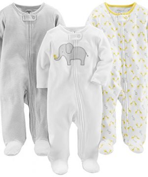 Carter's Baby 3-Pack Neutral Sleep and Play