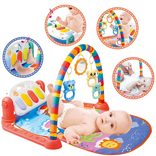 Baby Play Gym Activity Mat for Floor Kick and Play Piano