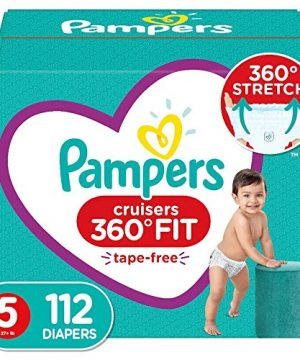 Diapers Size 5, 112 Count - Pampers Pull On Cruisers 360° Fit