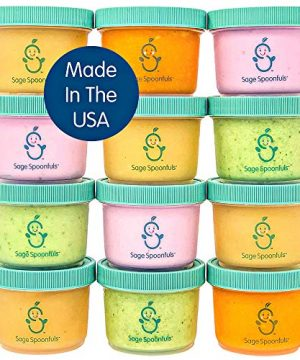 Baby Food Storage Containers with Lids