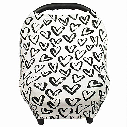 Gufix Infant Car Seat Cover, The Stretchy Nursing Scarf