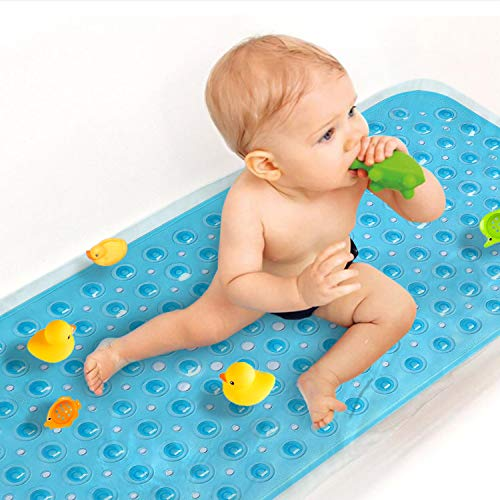Sheepping Baby Bath Mat Non Slip Extra Long Bathtub Mat