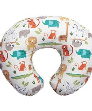Boppy Original Nursing Pillow, Positioner, Neutral Jungle Colors