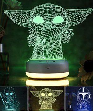 3D Star Wars Night Light for Kids