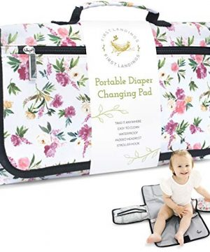 Portable Diaper Changing Pad, Wipe Holder