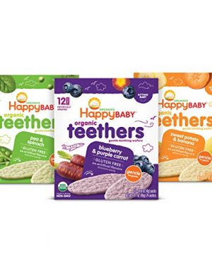 Happy Family Baby Organic Teethers 3 Flavor
