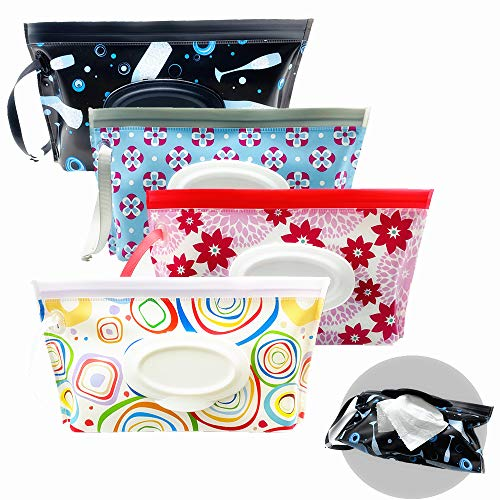 VOONGOR Portable Refillable Wet Wipe Pouch