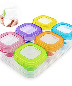 6Pcs 2oz Baby Food Blocks Containers