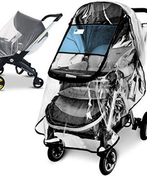 Stroller Rain Cover and Baby Stroller Mosquito Net