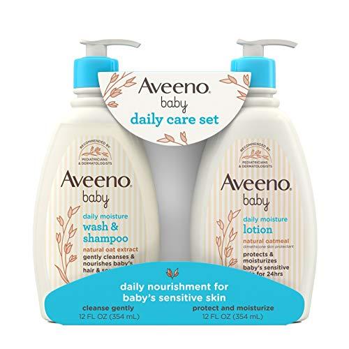 Aveeno Baby Gentle Moisturizing Daily Care Set