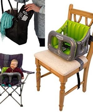 Airtushi - The Fully Collapsible Highchair with Ridged Sides
