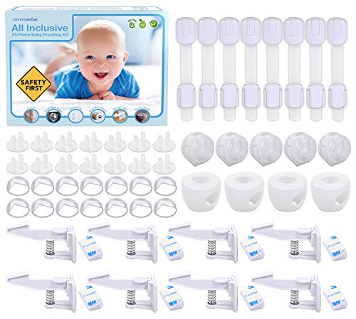 Stock Your Home Baby Proofing Kit (53 Pieces)