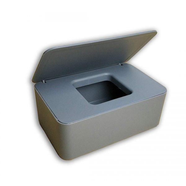 (Gray) Baby Wipes Dispenser Perfect Pull Simple Style